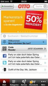 Otto iPhone-App