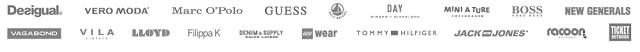 Einige Marken bei boozt.com