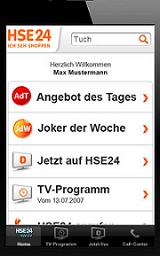 Die HSE24 App