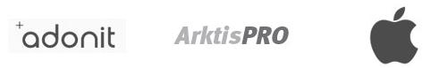Nur einige der vielen Marken bei arktis.de