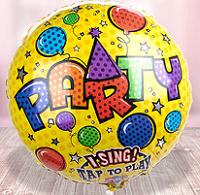 Ein Produktbeispiel von Valentins: Singender Ballon Party