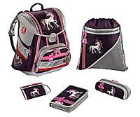 Ein Produktbeispiel von Koffer24: 5tlg. Schulranzenset Unicorn L.E.D von Step by Step