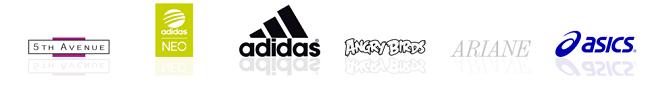 Einige der vielen Marken bei Deichmann