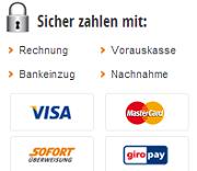 Die Zahlungsmöglichkeiten im büroshop24